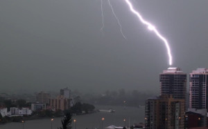 Superstorm in Brisbane