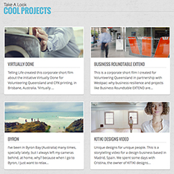 Take a look to our Cool Projects